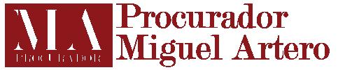 Procurador Miguel Artero logo